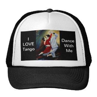 I Love Tango cap Trucker Hat