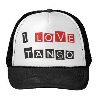 I Love Tango Products & Designs! Mesh Hats