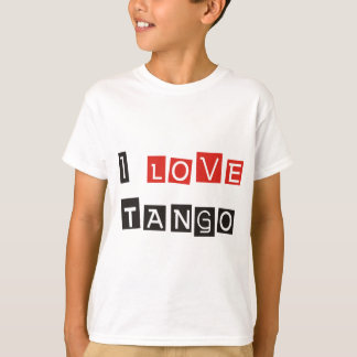I Love Tango Products & Designs! T-Shirt