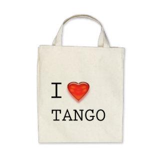I Love Tango Tote Bag