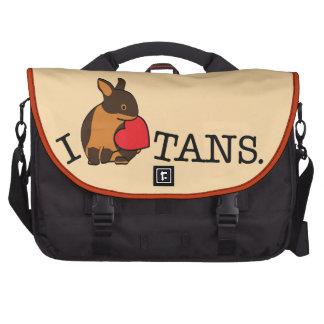I LOVE TANS! COMPUTER BAG