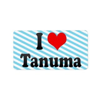 I Love Tanuma, Japan. Aisuru Tanuma, Japan Label