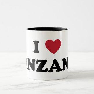 I Love Tanzania Coffee Mug