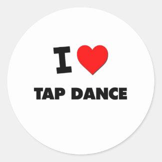 I Love Tap Dance Sticker