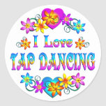 I Love Tap Dancing Stickers