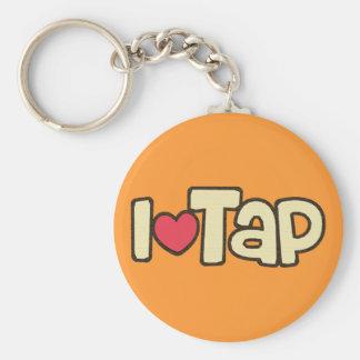 I Love Tap Keychain