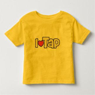 I Love Tap Toddler T-shirt