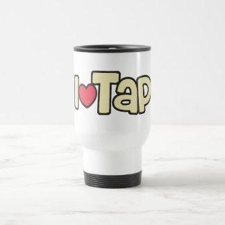 I Love Tap Travel Mug