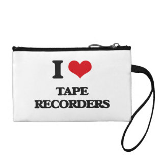 I love Tape Recorders Coin Purse