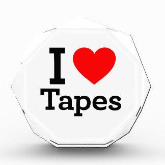 I Love Tapes Acrylic Award