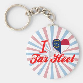I Love Tar Heel, North Carolina Key Chain