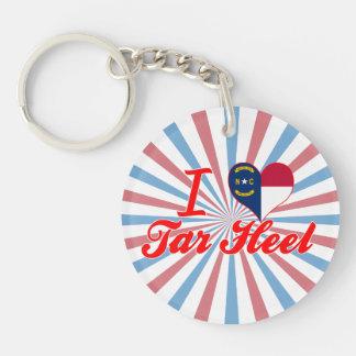 I Love Tar Heel, North Carolina Keychains