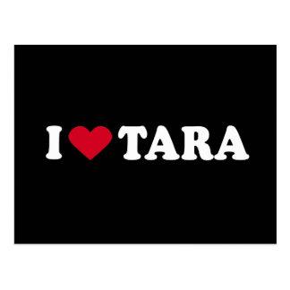 I LOVE TARA POSTCARD