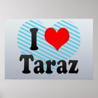 I Love Taraz, Kazakhstan Print