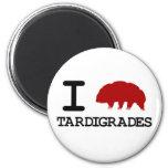 I Love Tardigrades 2 Inch Round Magnet