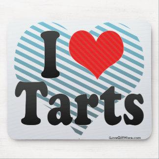 I Love Tarts Mousepad