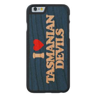 I LOVE TASMANIAN DEVILS CARVED® CHERRY iPhone 6 SLIM CASE