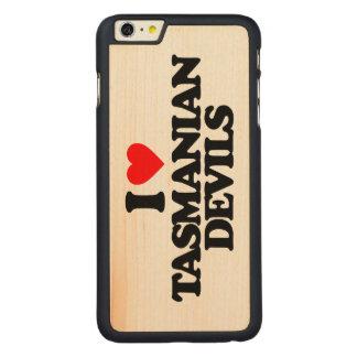 I LOVE TASMANIAN DEVILS CARVED® MAPLE iPhone 6 PLUS CASE