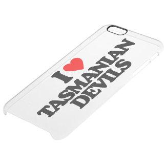 I LOVE TASMANIAN DEVILS CLEAR iPhone 6 PLUS CASE