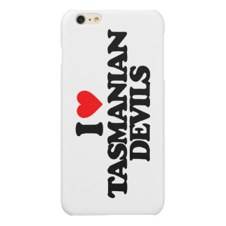 I LOVE TASMANIAN DEVILS GLOSSY iPhone 6 PLUS CASE