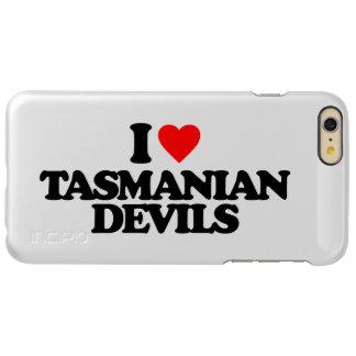 I LOVE TASMANIAN DEVILS INCIPIO FEATHER® SHINE iPhone 6 PLUS CASE