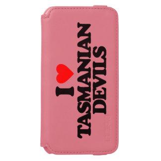 I LOVE TASMANIAN DEVILS iPhone 6/6S WALLET CASE
