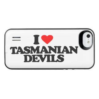 I LOVE TASMANIAN DEVILS iPhone SE/5/5s BATTERY CASE