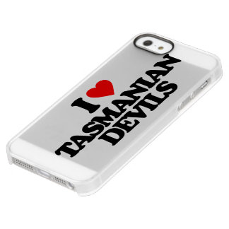 I LOVE TASMANIAN DEVILS PERMAFROST® iPhone SE/5/5s CASE
