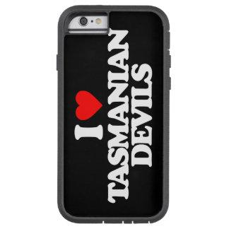 I LOVE TASMANIAN DEVILS TOUGH XTREME iPhone 6 CASE
