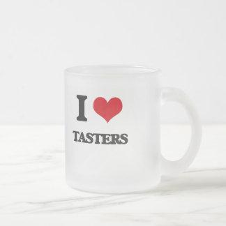 I love Tasters 10 Oz Frosted Glass Coffee Mug