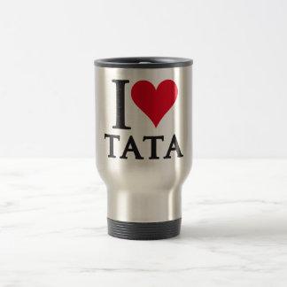 I LOVE TATA A Tribute to Mandela Tazas De Café
