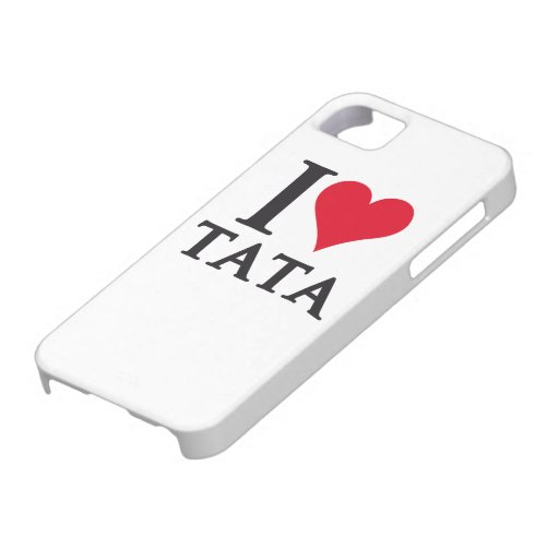 I LOVE TATA To Pays to Sends it iPhone 5/5S Cases