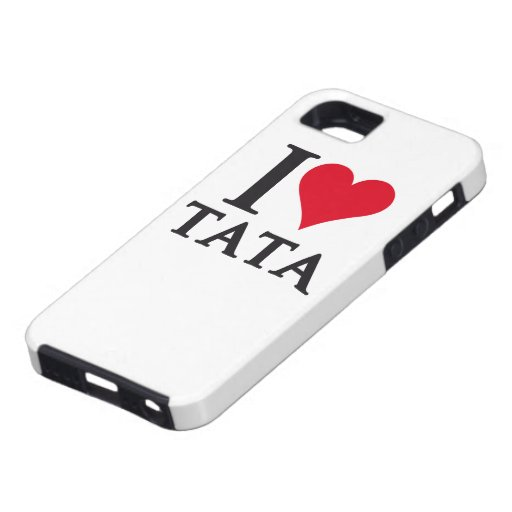 I LOVE TATA To Pays to Sends it iPhone 5 Cases