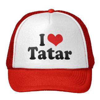I Love Tatar Trucker Hat