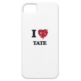 I Love Tate iPhone 5 Covers