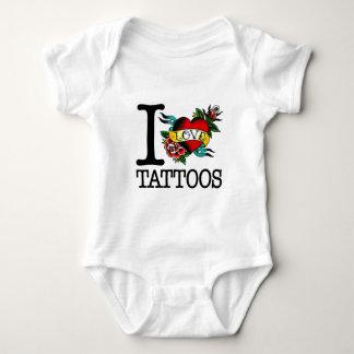 i love tattoos tattoo inked tat design baby bodysuit
