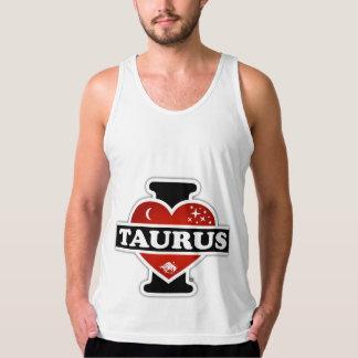 I Love Taurus American Apparel Fine Jersey Tank Top