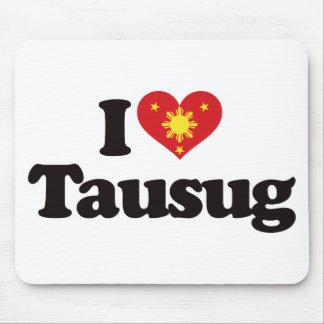I Love Tausug Mouse Pad