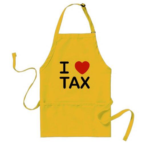 I Love Tax Aprons