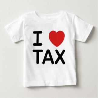 I Love Tax Baby T-Shirt