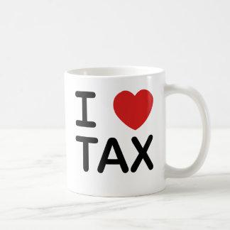 I Love Tax Classic White Coffee Mug