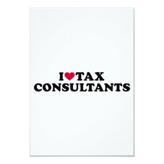 I love tax consultants card