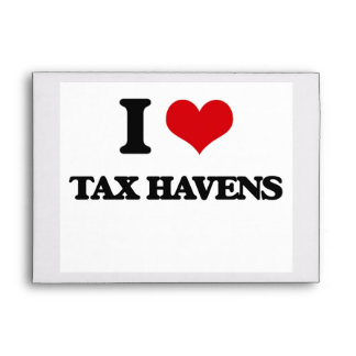 I Love Tax Havens Envelope