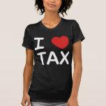 I Love Tax T Shirt