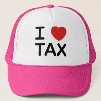 I Love Tax Trucker Hat