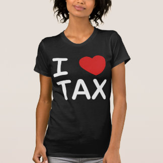 I Love Tax Tees