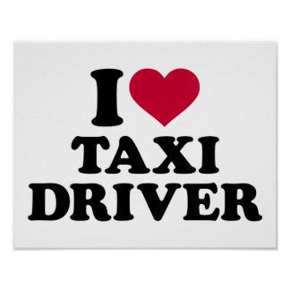 I love taxi driver poster