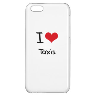 I love Taxis iPhone 5C Cover