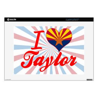 "I Love Taylor, Arizona Skins For 15"" Laptops"
