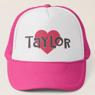 I Love TAYLOR Trucker Hat